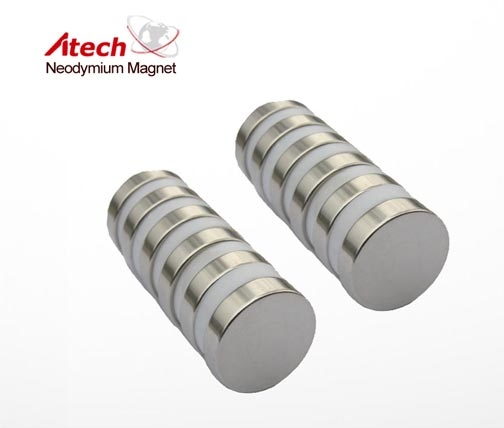 3/4 inch x 1/8 inch N52 Strong Round Magnets Cylinder Magent Small Circle Magnet
