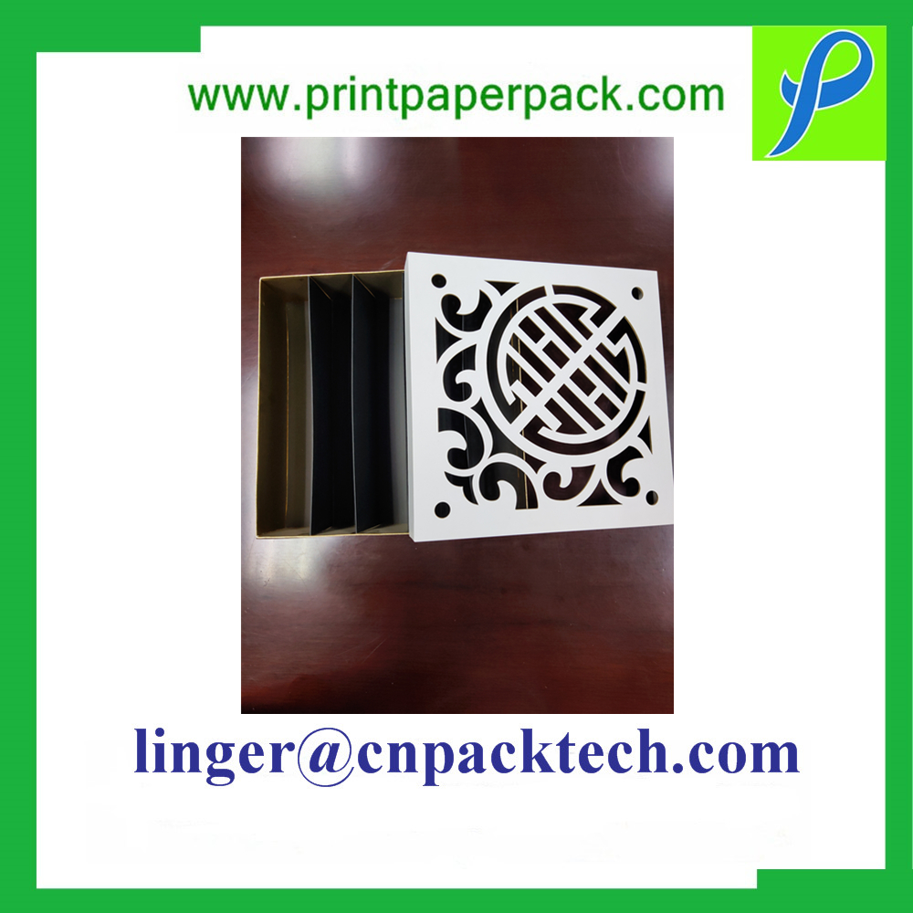 Personalized Slim Matte Vanishing Rigid Mooncake Chocolate Gift Box