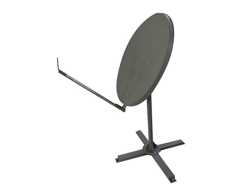 Ka 98cm VSAT satellite dish antenna steel made solid antenna
