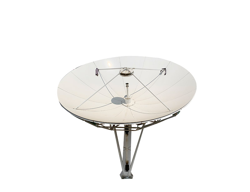 Ku band 4.5m satellite dish used in VSAT and TVRO