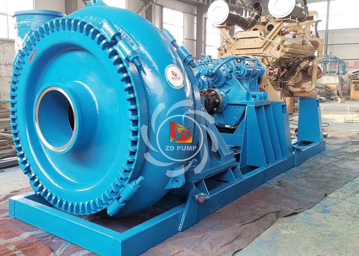 diesel engine drive sand suction pumps
