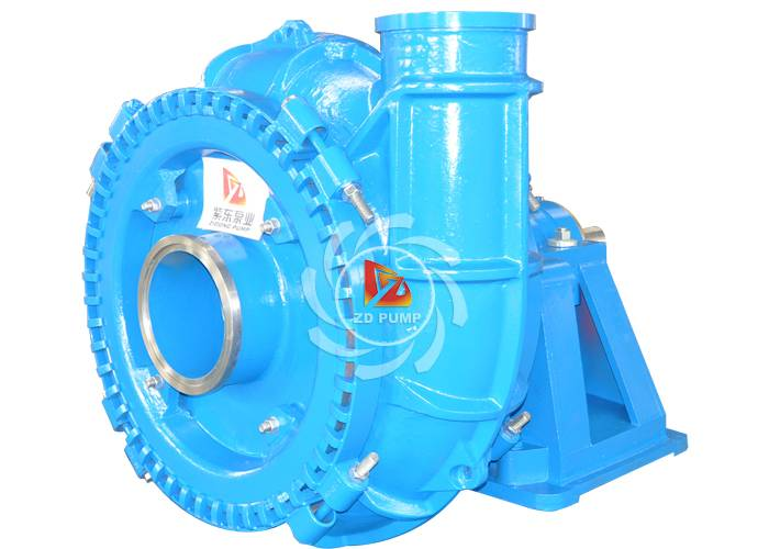 used on river barges slurry gravel pump