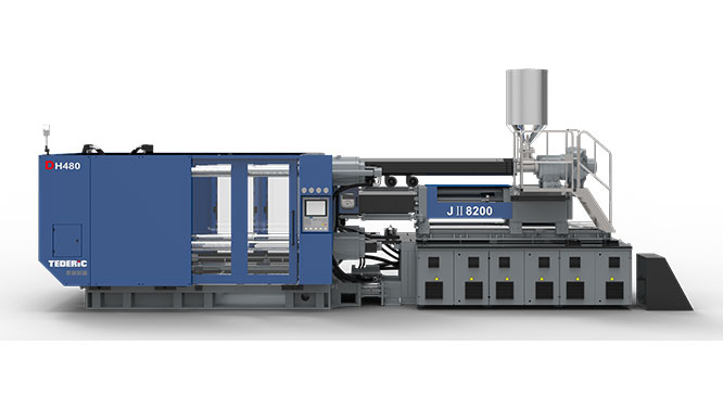 DH-JII Two-platen Medium to High Pressure Dual-stage Injection Molding Machine