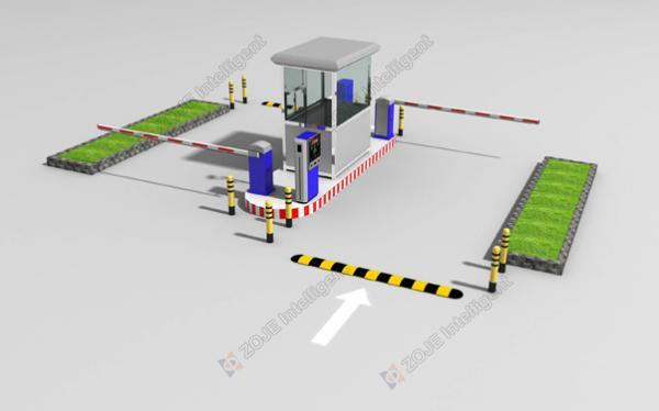 ZOJE Parking Lot Management System Solution