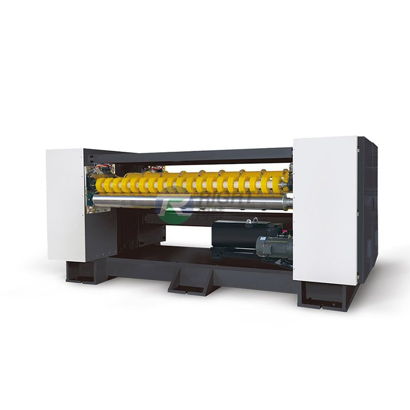 Single Layer NC-Helical Knives Cutting Machine