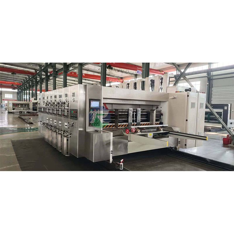 Fully Automatic High- Speed Flexo INK Printing Slotting Die Cutting Machine