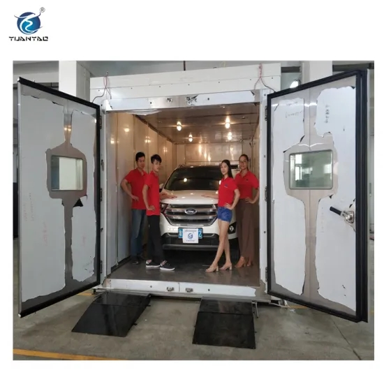 Walk-in Heating Cooling Temperature Humidity Test Chamber Room Test Machine