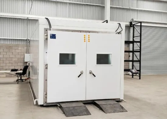 Overseas Installation and Debugging Available Environmental Test Chambers for Test Car Computer Cell Phone