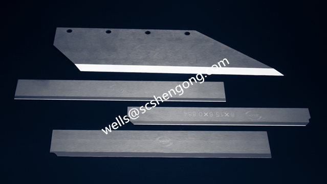 Industry Solid Carbide Blades Customized Hardmetal Knives
