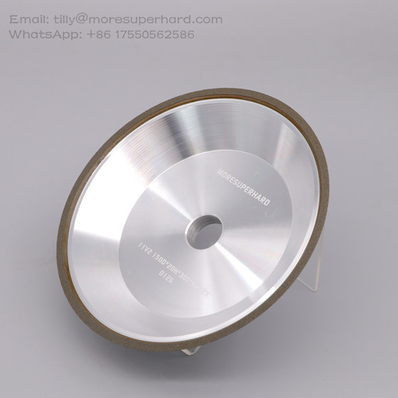 11V2 resin bond diamond grinding wheel for tungsten carbide