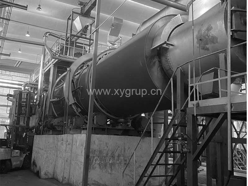 China activated carbon regeneration kiln carbon rotary kiln