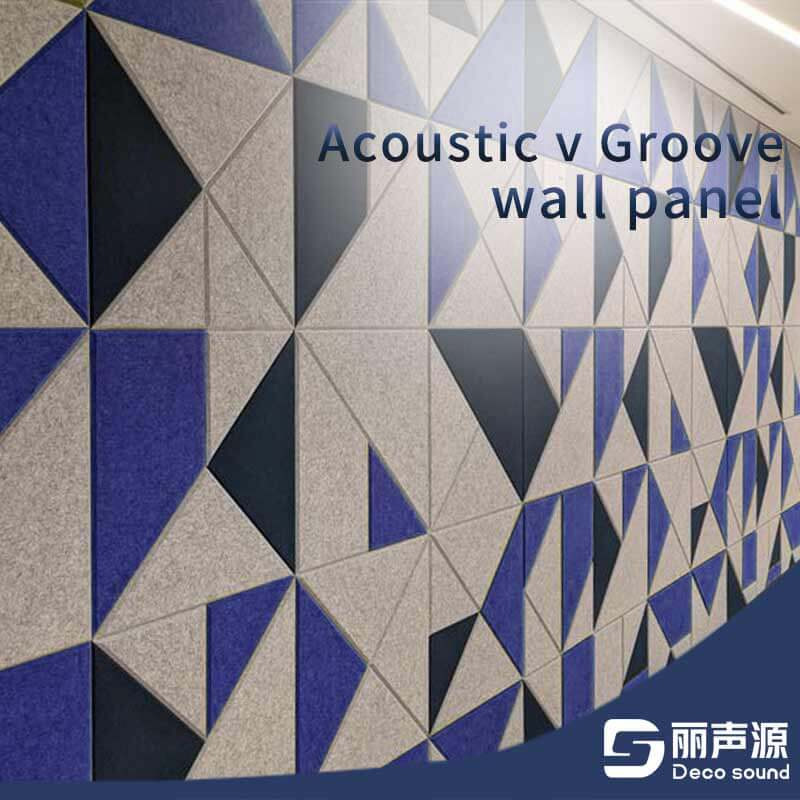 Acoustic V Groove Wall Panel