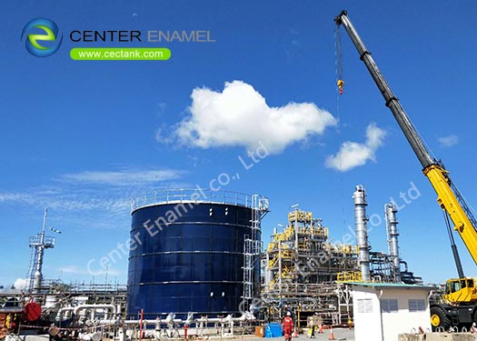 Above Ground Storage Tanks / Anaerobic Digestion Tanks For Wastewater Treatment Project
