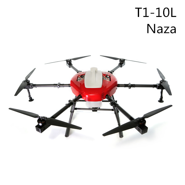 T1-10L Naza Agriculture Drone For Spraying Fertilizer And Pesticides (2017)