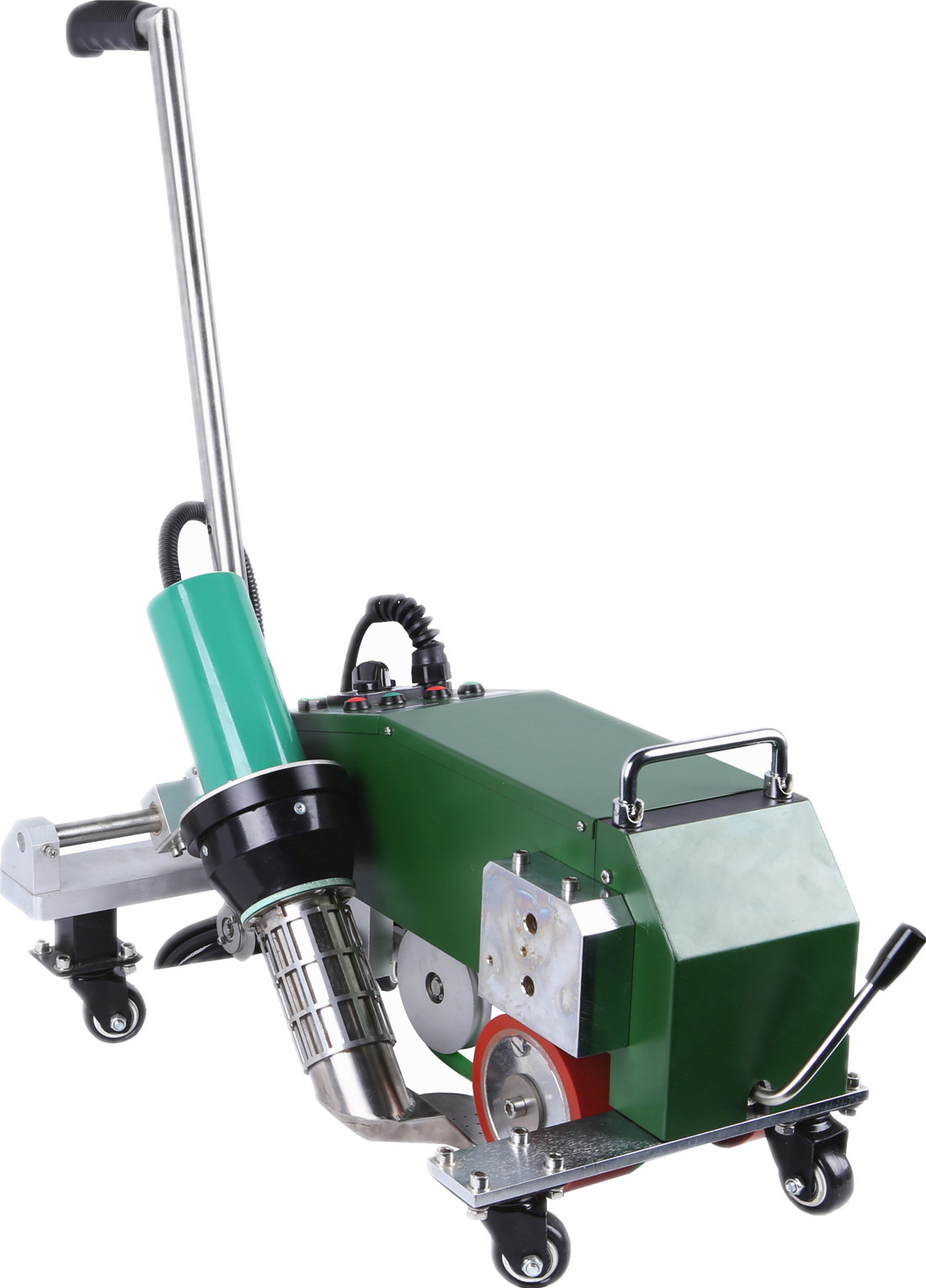 SWT-MAT1 hot air welding machine with automatic drive start system