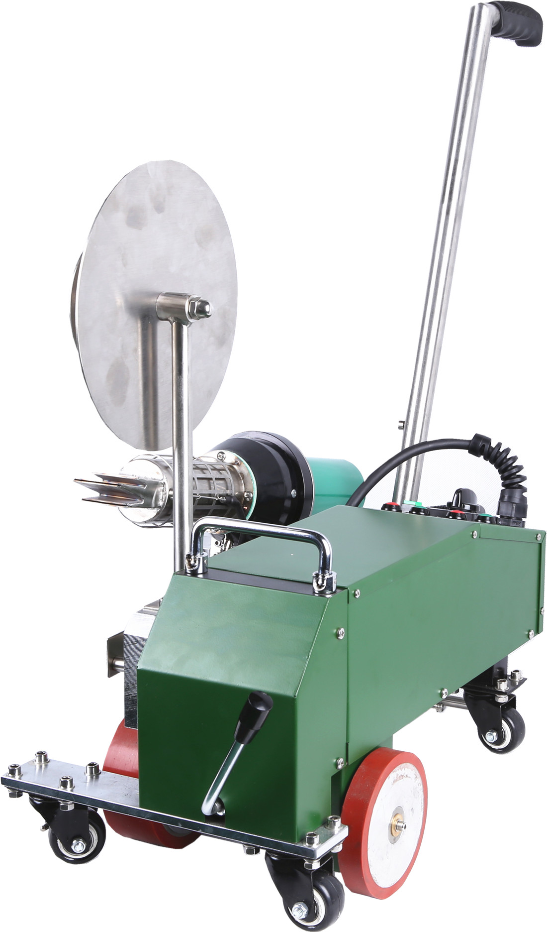 SWT-MAT2 Poly material welder for the welding of thermoplastic tapes