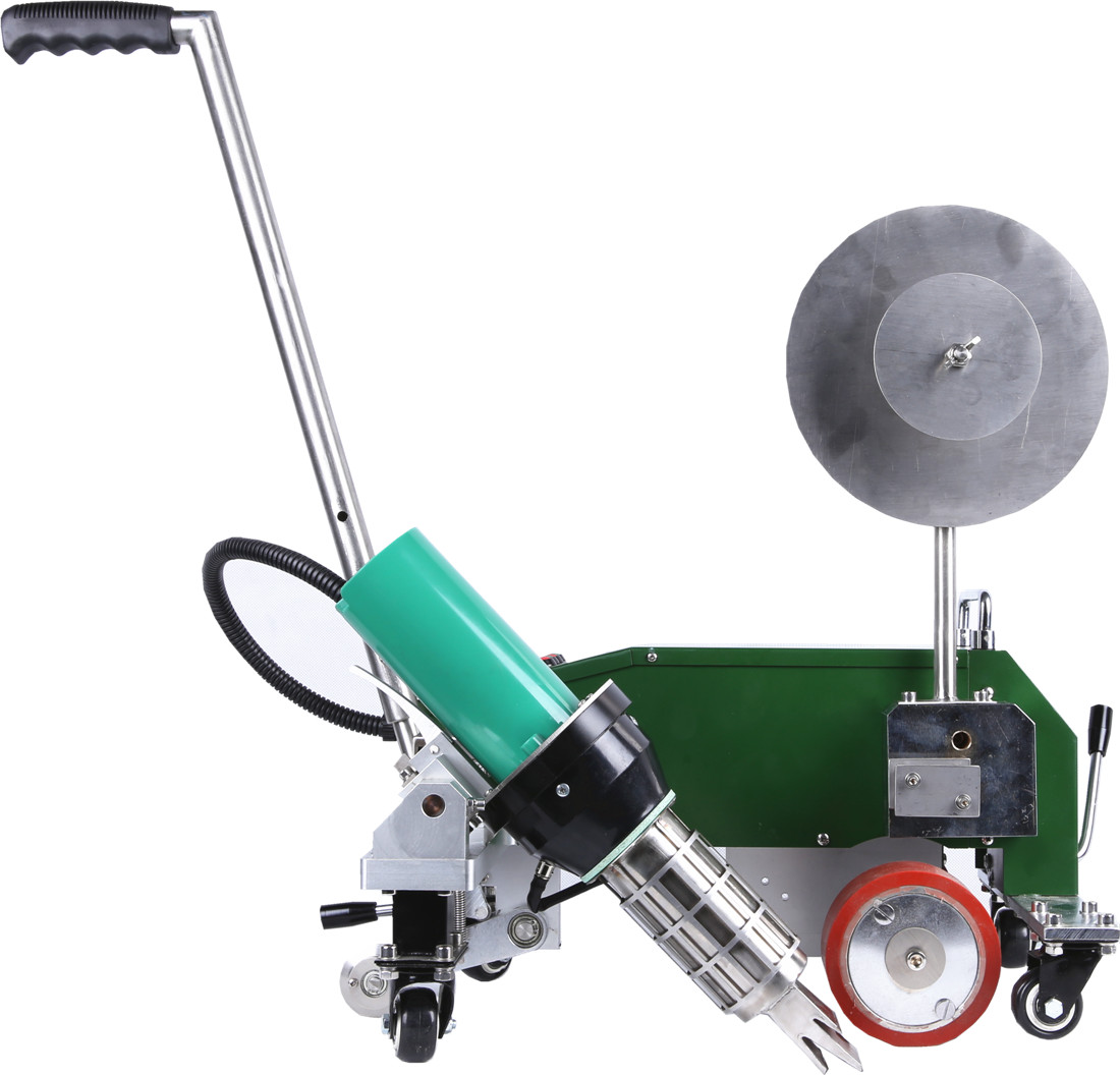 SWT-MAT2 Hot air automatic tape welder  for PVC banner and tent