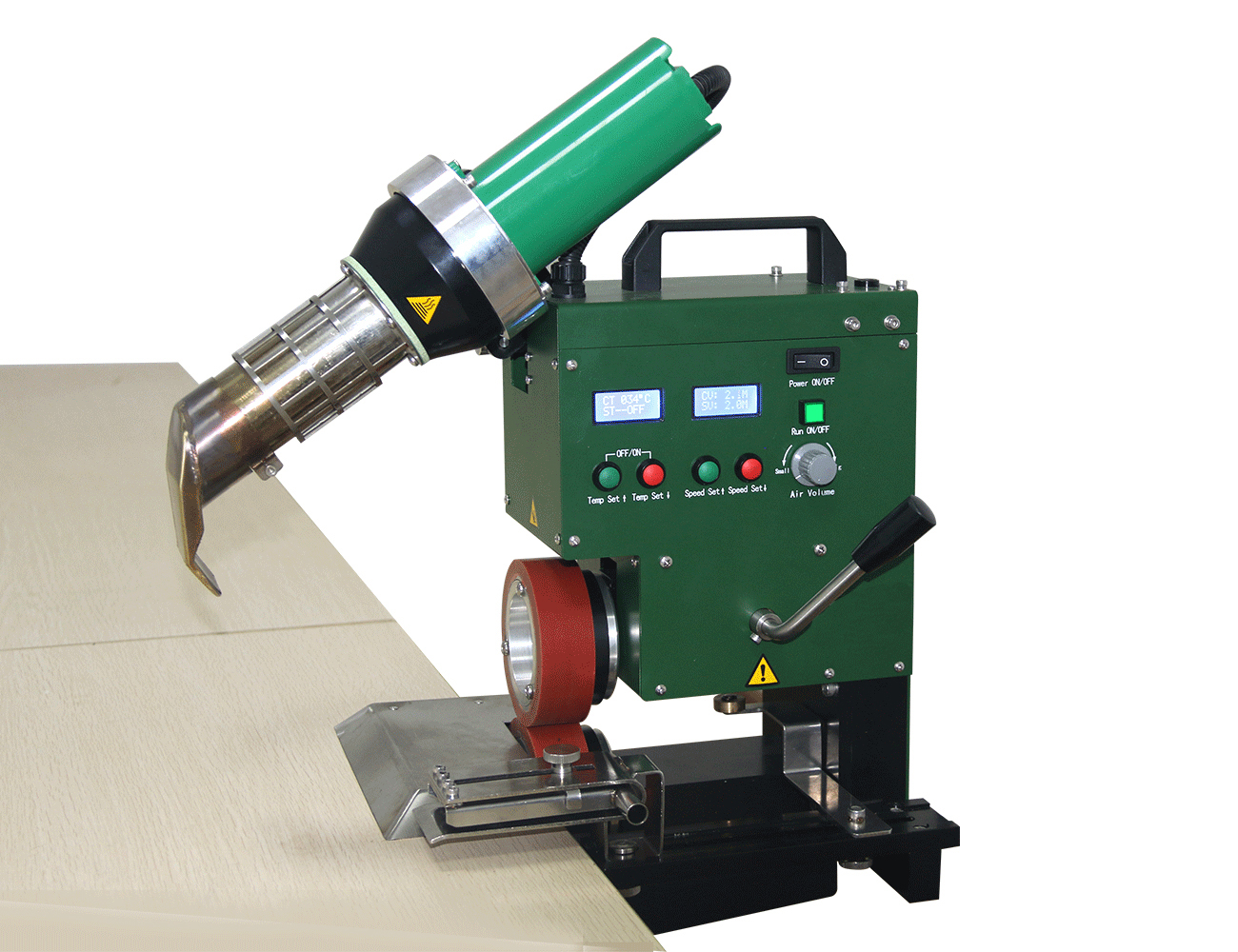 SWT-PAU Quick locking  tarpaulin membrane welding machine on sale