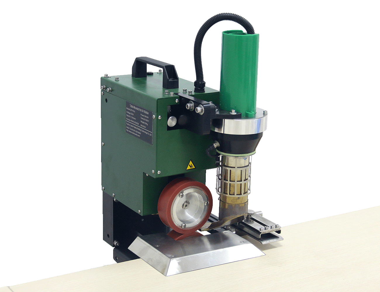 SWT-PAU Top table mounted welding machine for thermofusible tarps