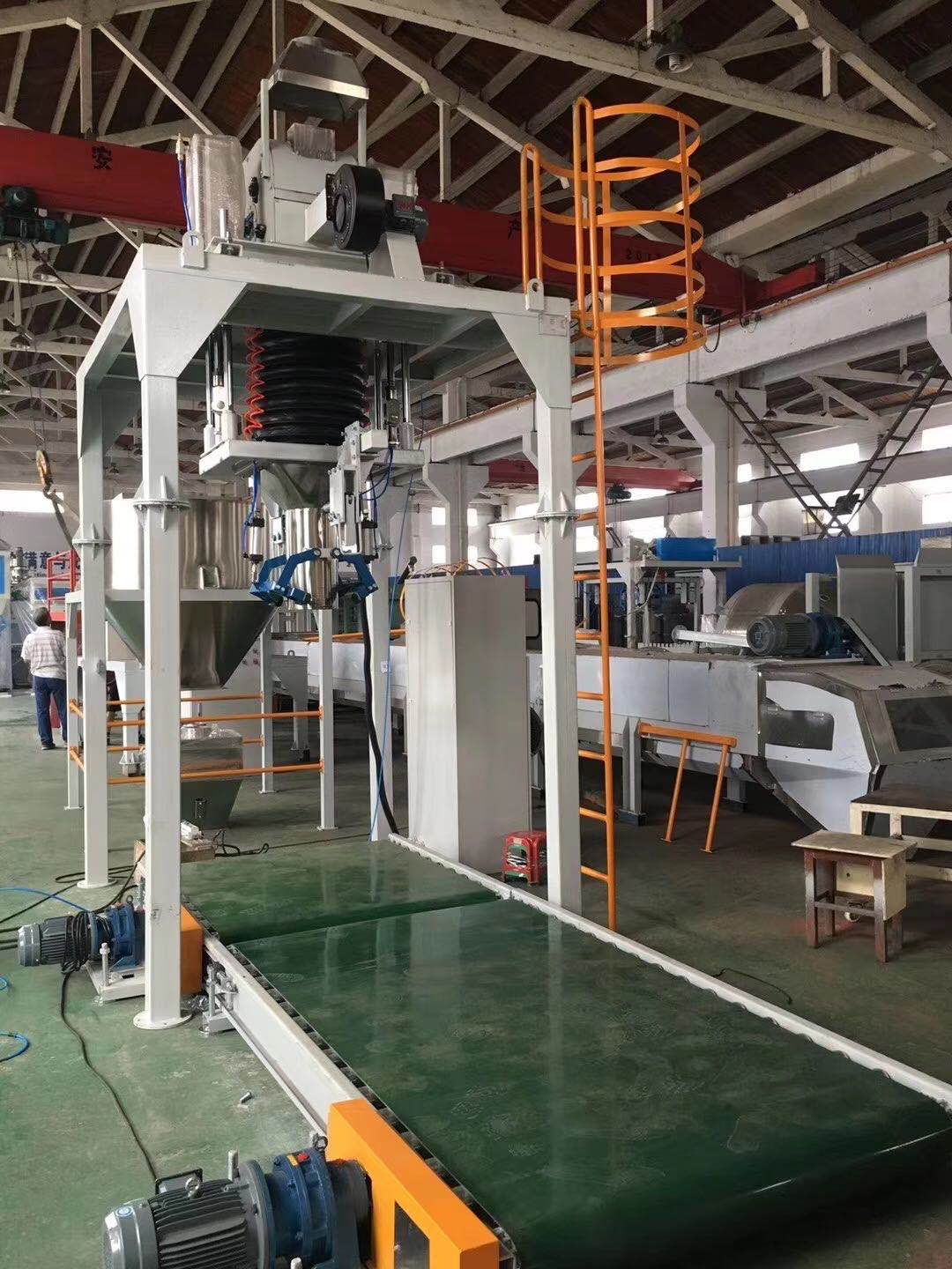Chromium Ore packing machine FIBC bag filling machine Bulka bag filler
