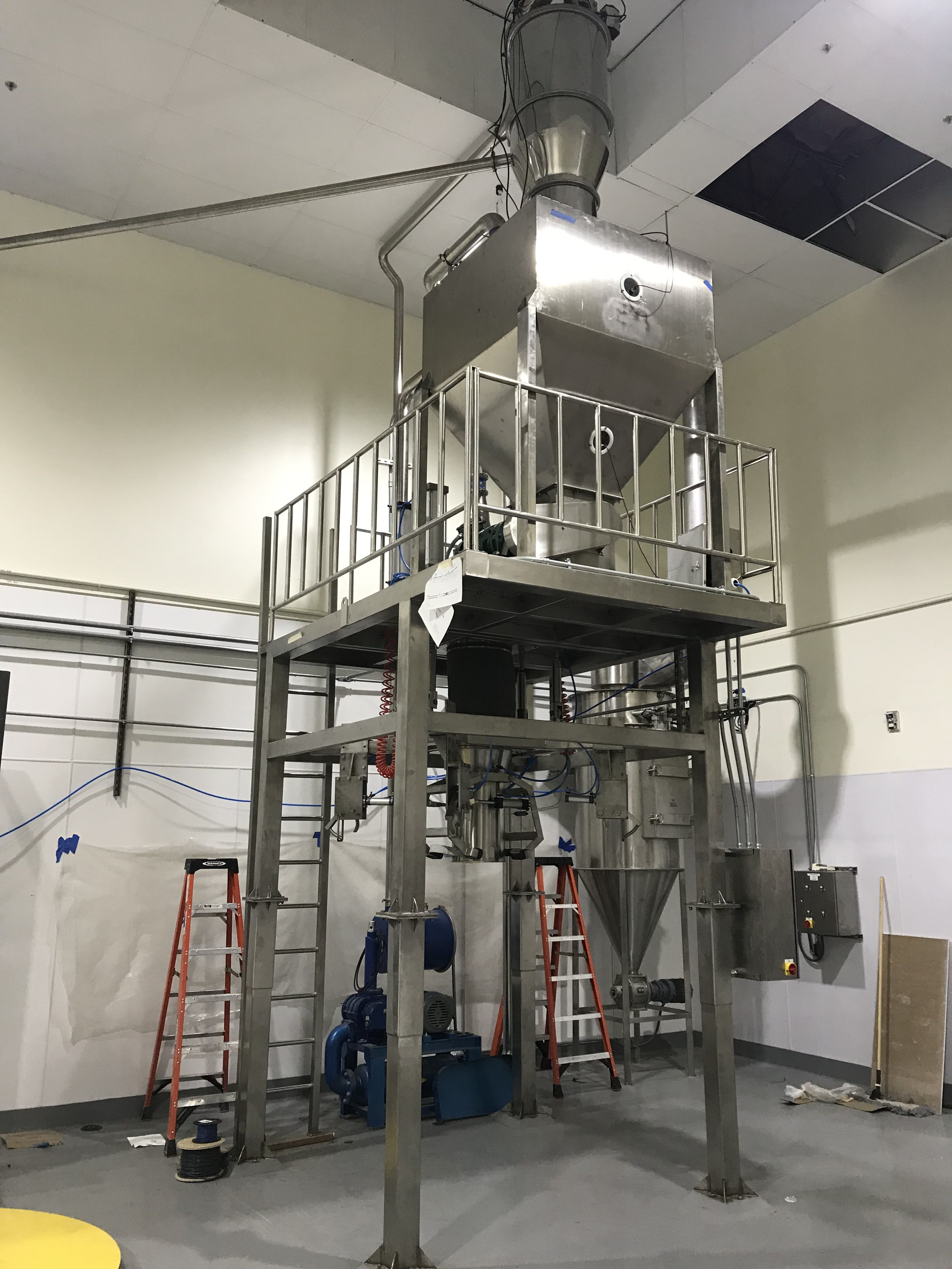 protein packing machine FIBC bag filling machine Bulka bag filler