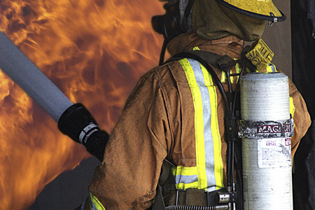 Fire & Safety Garments with PTFE Membrane