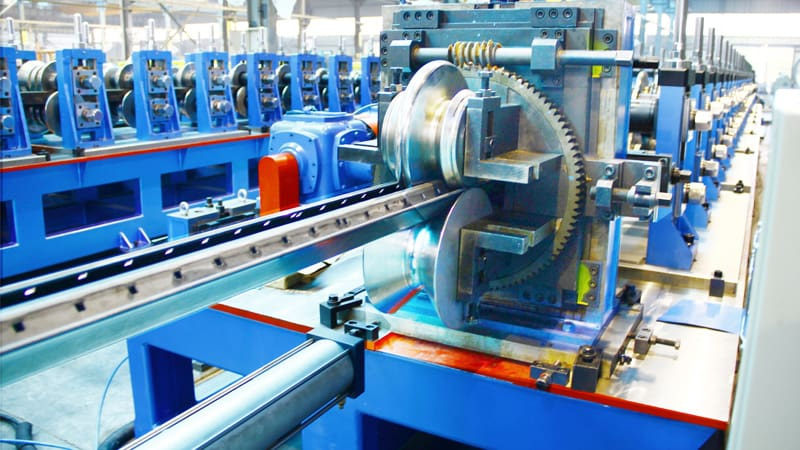 Heavy Duty Shelf Column Roll Forming Machine