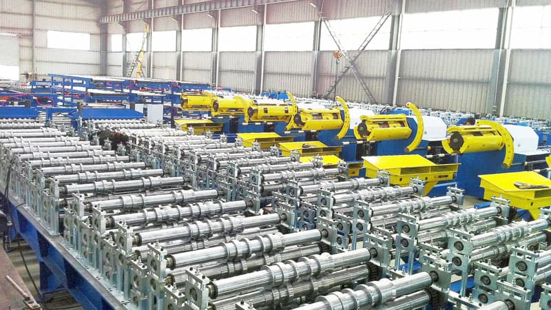 High Speed Double Deck Roll Forming Machine