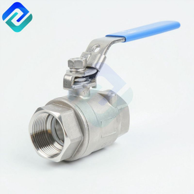 2 pc 304  316 grade stainless steel ball valve with BSP thread DN6~DN100