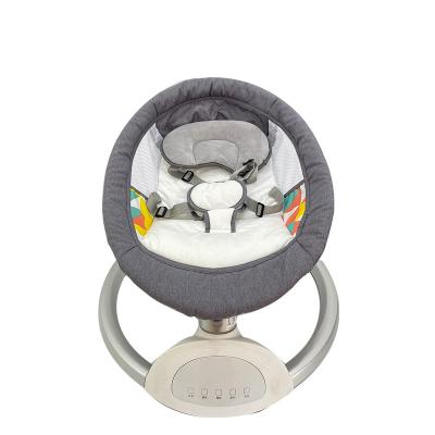 Remote Control Ellipse/Rectangle Shape Adjustable Recline Position Automatic Baby Swing Bed