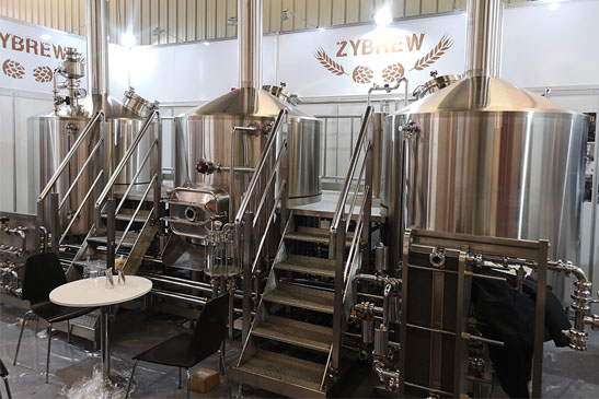 Three Vessel Brewhouse