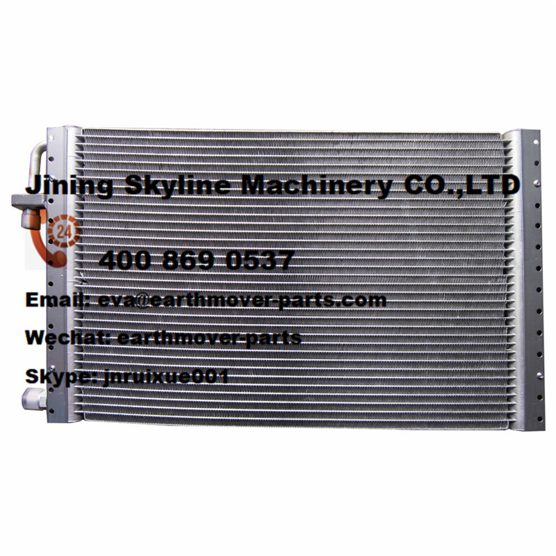 10Y-58B-12000 SHANTUI bulldozer air consitioner condensor