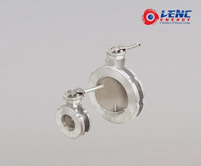 Small flow resistance Butterfly valves Low torque with 90°