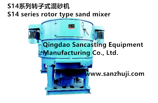 S14 series rotor type sand mixe