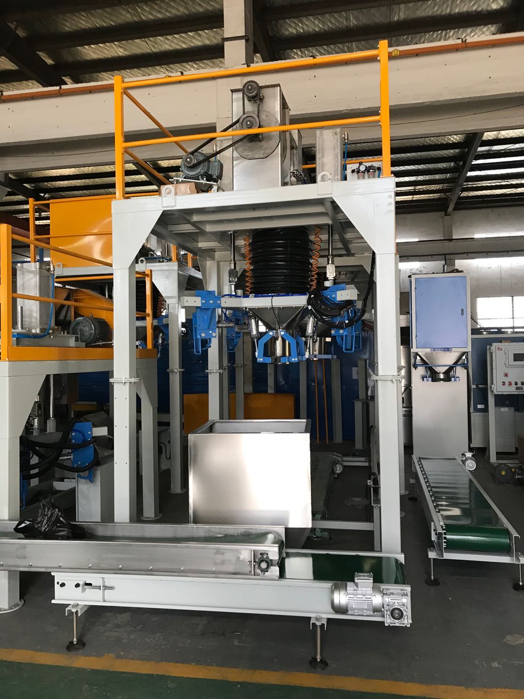 fully automatic bagging system for protein powder Automatic bagging Palletizing Line Full Automatic Packing & Palletizing Line