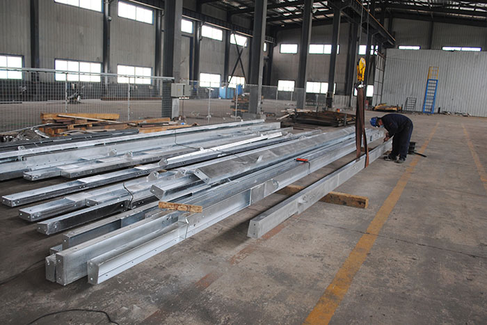 Channel steel welding 8m