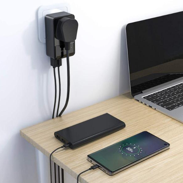 USB charger multi-port socket adapter