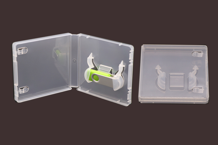 WEISHENG Plastic USB 16gb 32gb 64gb U Disk Case Boxes Holder