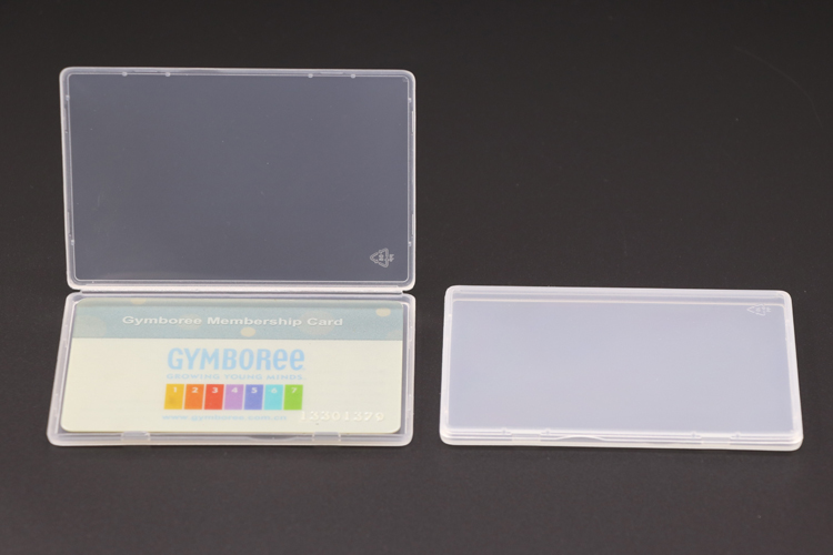Slim Business Card Box Keeper Cases for Credit Memory Cards