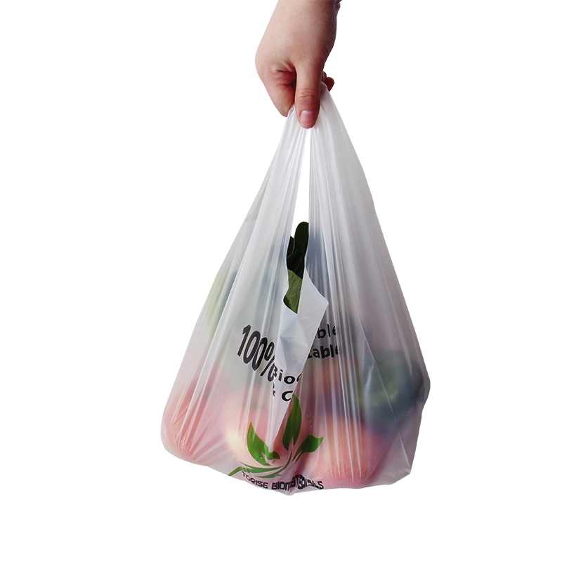 12micron EN13432 100% biodegradable compostable PLA fruit bag