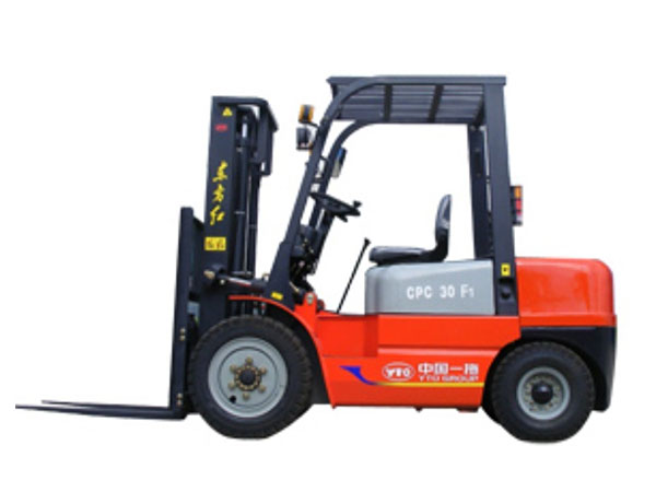 YTO 3T LPG POWERED FORKLIFT CPYD30