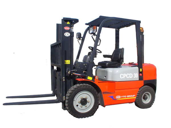 YTO 2T LPG Powered forklift CPQD20