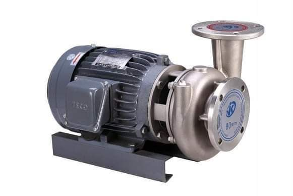 High temperature resistant horizontal stainless steel centrifugal pump
