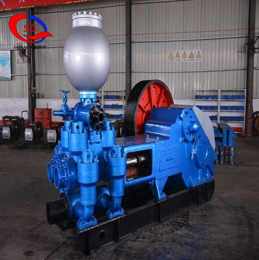 BW1200 / 7 Horizontal Double Cylinder Reciprocating Double Acting Piston Pump