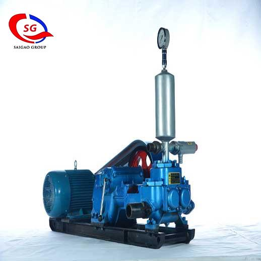 BW200/4 Horizontal Double Cylinder Reciprocating Double Acting Piston Pump