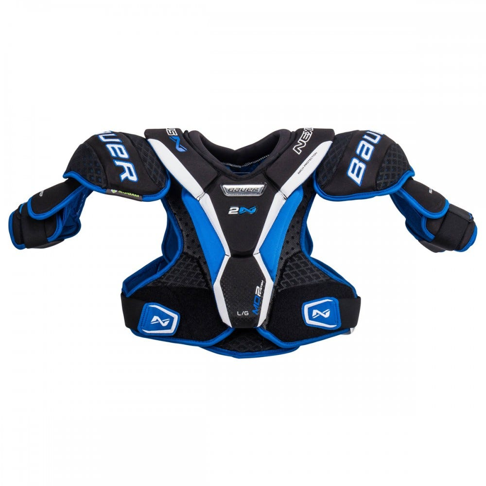 Наплечники хоккейные Bauer Nexus 2N Senior Hockey Shoulder Pads