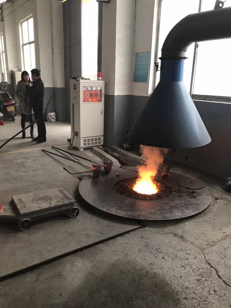 Hot sale 0.1T to 15T iron/steel industrial induction melting furnace