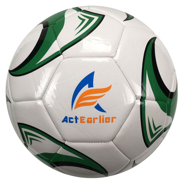 Outdoor Football Training Equipment Team Sports Goods PVC Leather Size 5 Soccer Ball