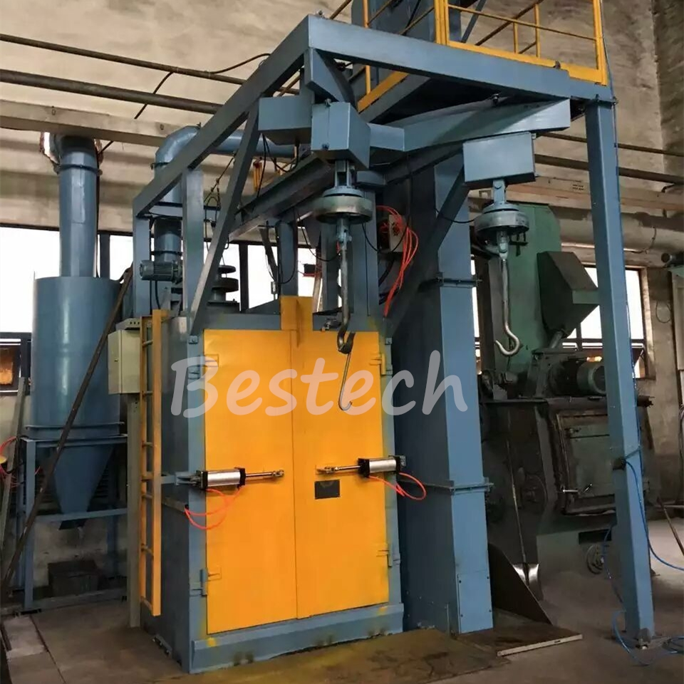Spinner Hanger Hook Shot Blasting Machine