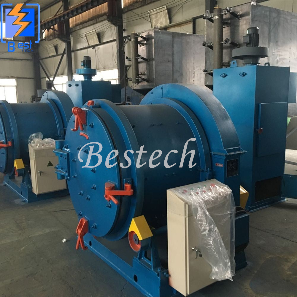 Rotary Drum Shot Blasting Machine